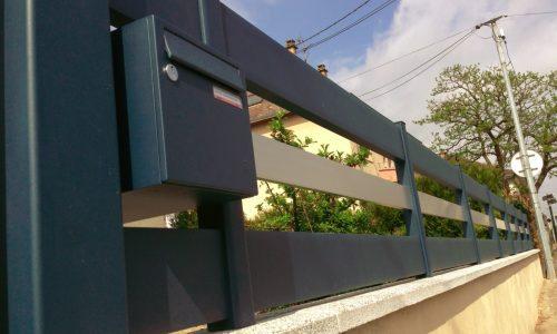 cloture alu horizontale art et portails (8)